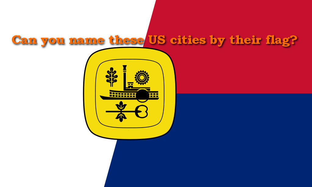 US Cities Flags