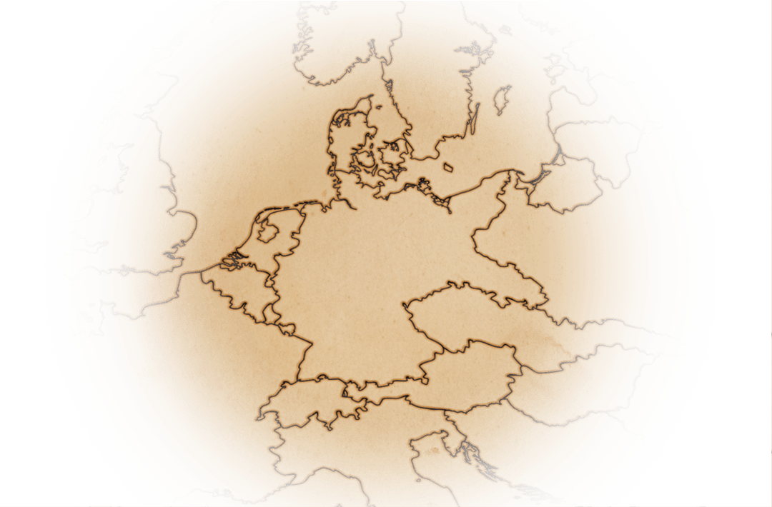 historic Europe map